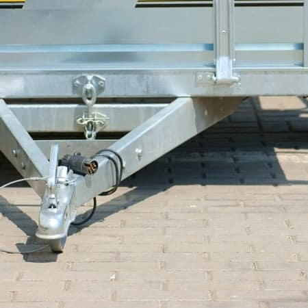 trailer tow bar, outdoor