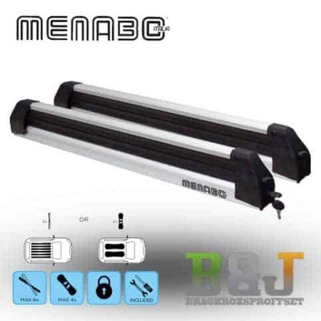 Menabo Silver Ice - Skidhållare för takräcke