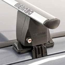Takräcke för bilar utan Rails eller Fästpunkter