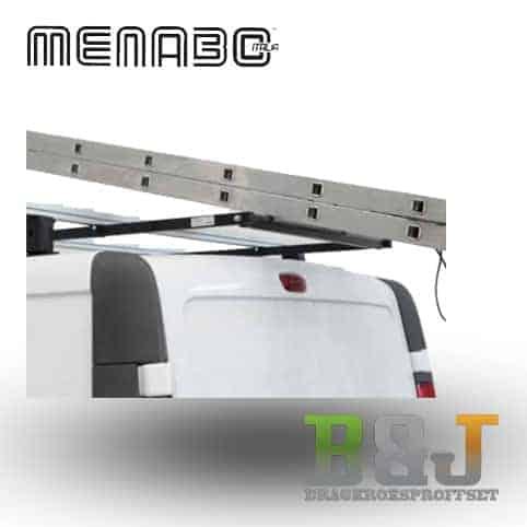 Lastsystem med hjul bak - 180cm - Menabo