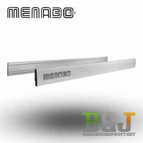 Laststopp aluminium - 170 cm - Menabo
