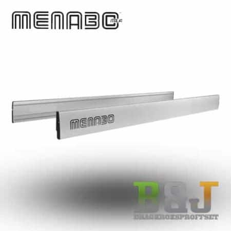 Laststopp aluminium - 140 cm - Menabo